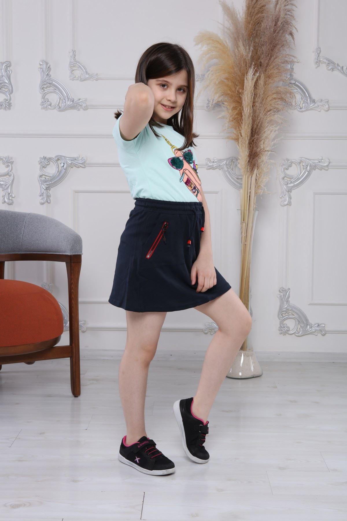Penye Kız Çocuk Etek