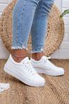 Vans Bağcıklı Beyaz Spor Ayakkabı